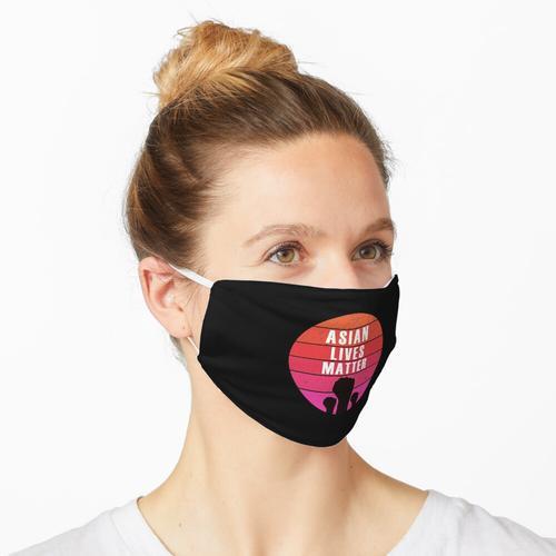Stoppen Sie asiatische Hass-asiatische Leben Materie Maske