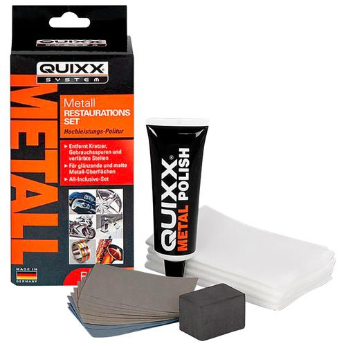 QUIXX Politur, (Set, 14 St.), 50 ml für Metall orange Autopflege Autozubehör Reifen Politur