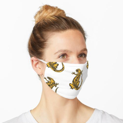 Feuersalamander Maske