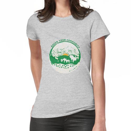 Grün deine Gemeinde Frauen T-Shirt