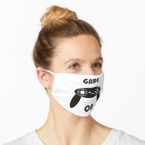 Spiel auf dem Konsolencontroller Maske