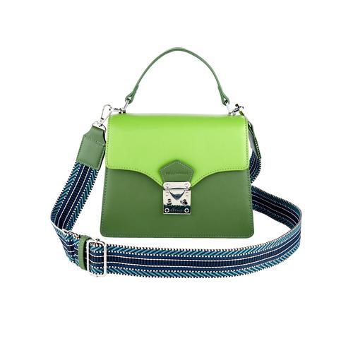 Handtasche EMILY & NOAH grün-kombi