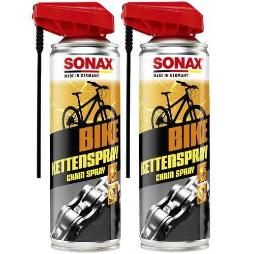 2x 300 Ml Sonax Bike Kettenspray Easy Spray Fahrrad Kettensprühfett Fahrradkette Sonax Artikelnr.: 08762000