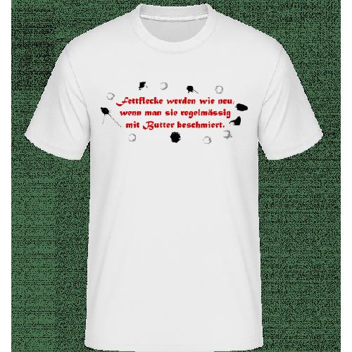 Fettflecke Werden Wie Neu - Shirtinator Männer T-Shirt