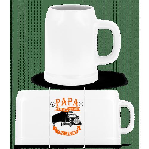 Papa The Legend - Bierkrug
