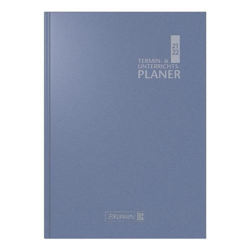Lehrerkalender A5 blau, Brunnen