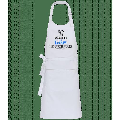 Männer Die Kochen - Profi Kochschürze