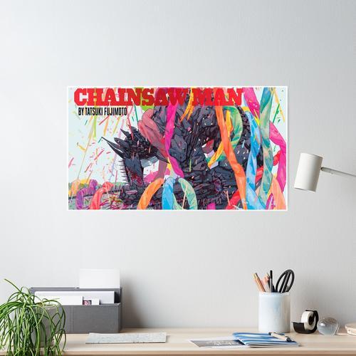 KETTENSÄGE MANN Poster