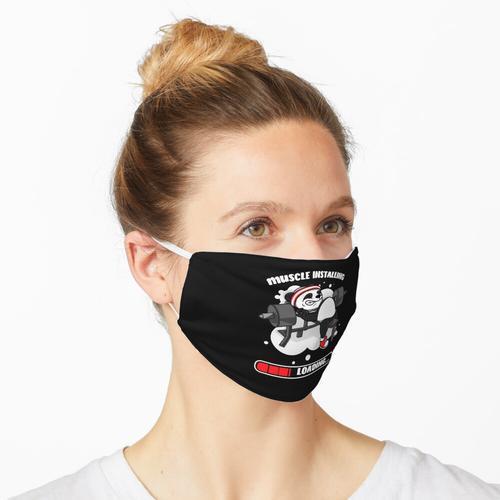 Bodybuilder Panda Muskel Bodybuilder Maske