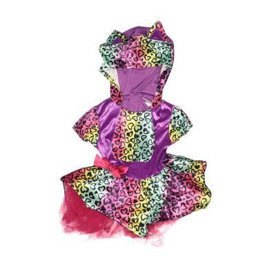 Swiggles - Swiggles Costume: Purple Animal Print Accessories - Size 2Toddler