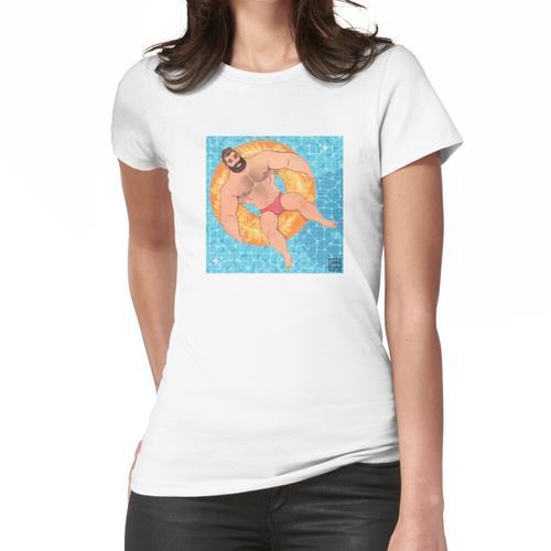 Poolbär # 1 Frauen T-Shirt