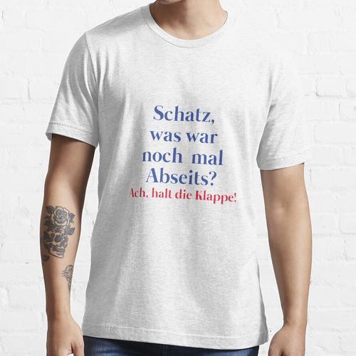 Frauen und Fussball Frauenfussball Essential T-Shirt