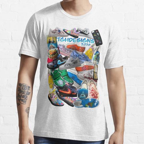 TGHdesigns 2020 Custom Sneaker Collage Essential T-Shirt