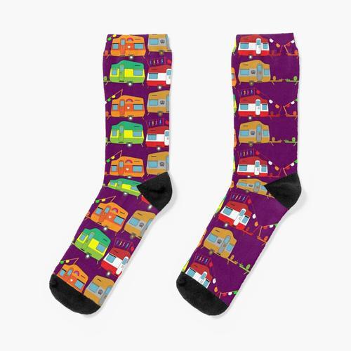 Neuheit Caravaning - Caravaning Liebe - Neuheit Caravan Geschenke - Caravan Home Socken