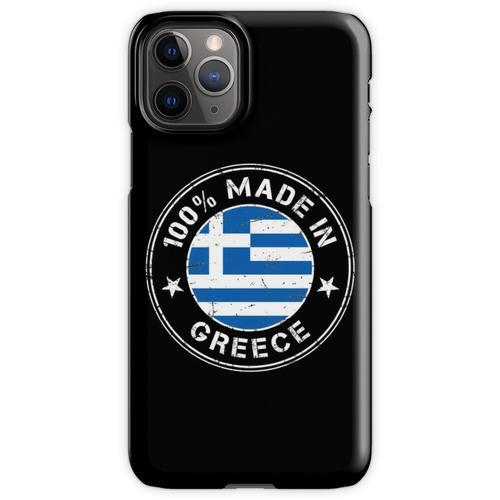 Griechenland griechisch Flagge Fahne iPhone 11 Pro Handyhülle