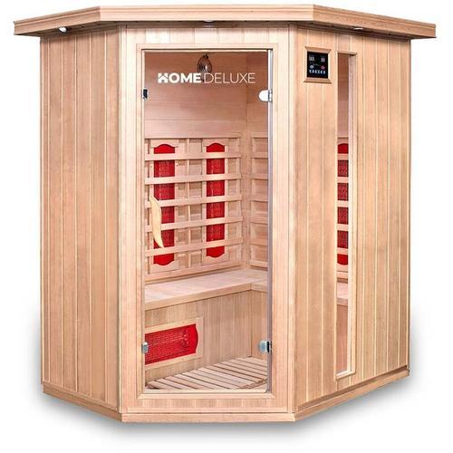 Home Deluxe - Infrarotsauna Redsun XL | Infrarotkabine, Wärmekabine, Saunakabine, Sauna