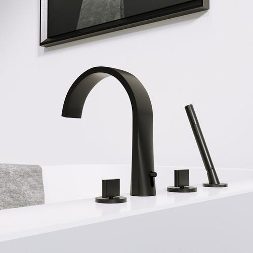 Steinberg Serie 280 4-Loch Wannenarmatur, matt black, 2802400S 2802400S