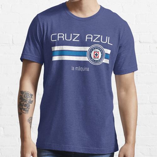 Liga MX - Cruz Azul (Heimblau) Essential T-Shirt