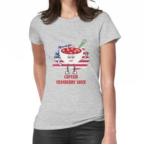 Captain Cranberry Sauce- Frauen T-Shirt