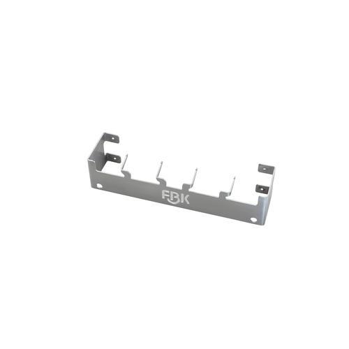 HACCP Stahlbefestigungssystem 415 MM, 4 X Stahl Haken