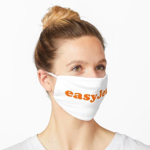 easyJet Logo Maske