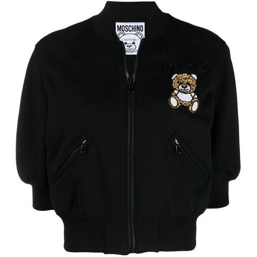 Moschino Bomberjacke mit Teddybär