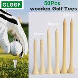 Tees de Golf en bois 50 pièces, ...
