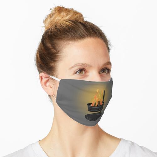 Feuerstelle Maske