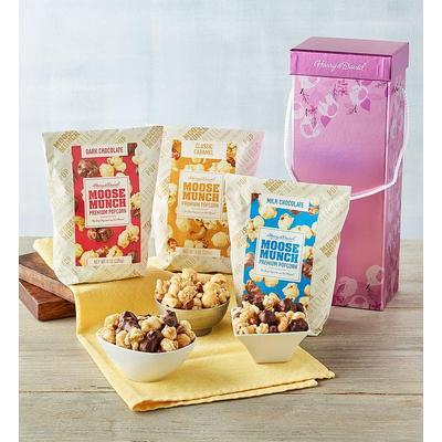 Moose Munch Premium Popcorn Trio Spring Box