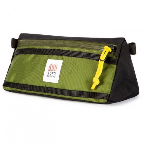 Topo Designs - Bike Bag - Fahrradtasche Gr 5,5 l schwarz/oliv/grün