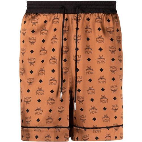 MCM Shorts im Pyjama-Stil