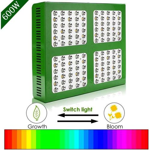 Hengda 600W LED Pflanzenlampe Vollesspektrum Dimmbar Pflanzenlicht LED Grow Light für