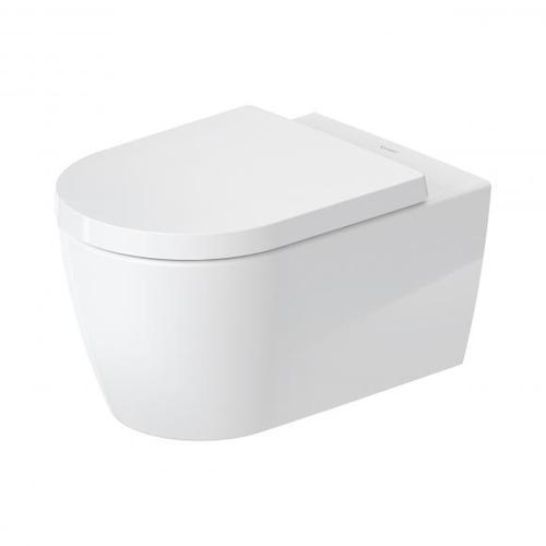 Duravit ME by Starck Wand-Tiefspül-WC, HygieneFlush, rimless L: 57 B: 37 cm weiß, mit HygieneGlaze 2579092000