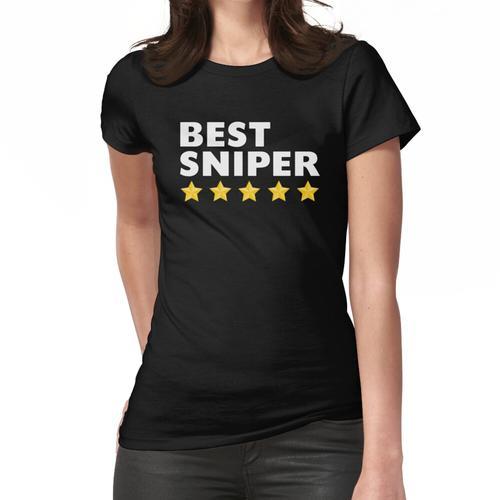 Bester Scharfschütze 5 Star Frauen T-Shirt