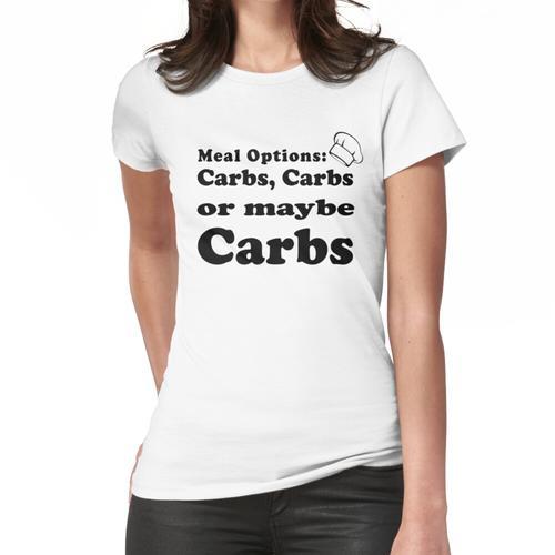 Kohlenhydrat- und Kohlenhydratliebhaber Frauen T-Shirt