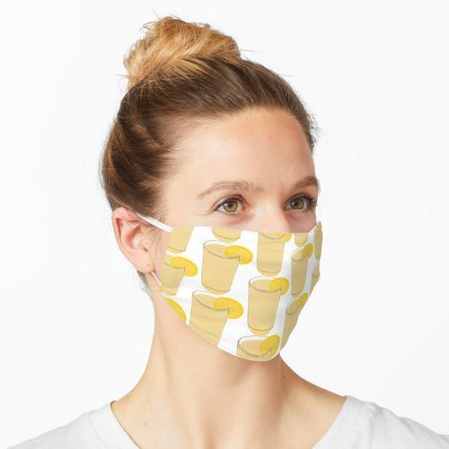 Limonadenglas Maske