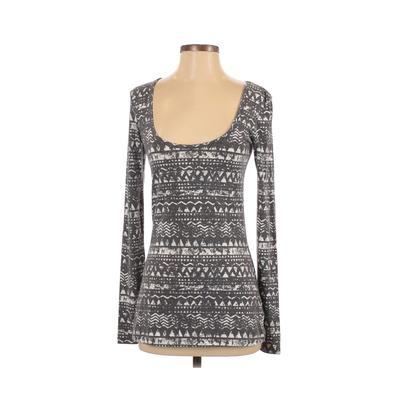 PacSun Long Sleeve T-Shirt: Gray Tops - Size Small