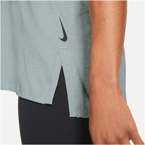 NIKE Herren Yoga T-Shirt Nike Yoga Dri-Fit, Größe L in Pink