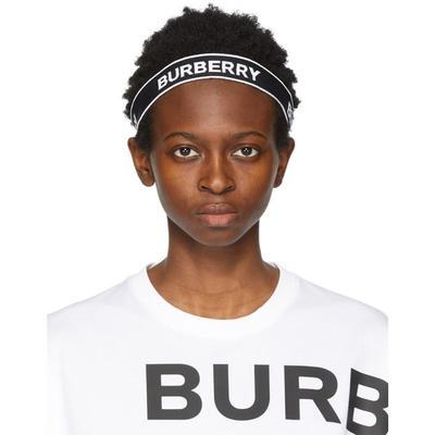 Burberry Serre-tete a logo noir ...