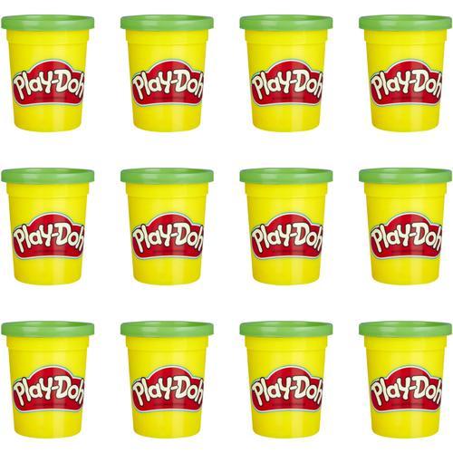 Hasbro Kneten Play-Doh 12er-Pack mit grüner Spielknete