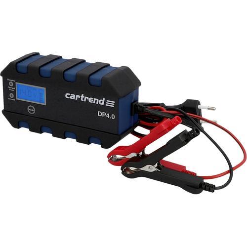 Cartrend Autobatterie-Ladegerät Batterieladegerät DP 4.0, (Packung), Ausgangsstrom 4 schwarz Autobatterie-Ladegeräte Autozubehör Reifen