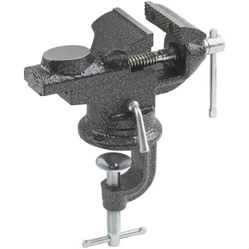 meister Schraubstock, Spannweite: 0 bis 60 mm grau Schraubstöcke Werkzeug Maschinen Schraubstock