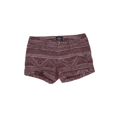 American Eagle Outfitters Khaki Shorts: Burgundy Bottoms - Size 2