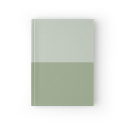Halber Spargel / Spargel Notizbuch