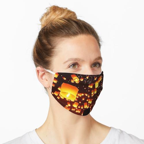 Chinesische Laternen des neuen Jahres Maske