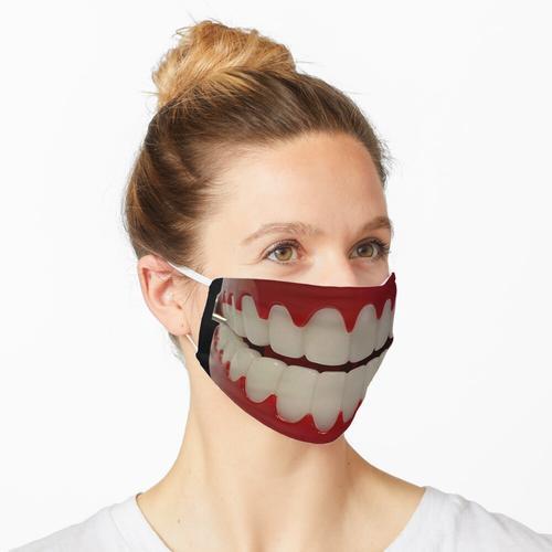 Geschwätz Zähne Maske