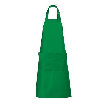 SOLS Kochschürze Unisex Gala Gastro-Schürze, lang, (1 tlg.) grün Küchenschürze und Kochen Backen Haushaltswaren