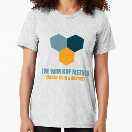 Die Wim Hof Methode Atemtechnik Vintage T-Shirt