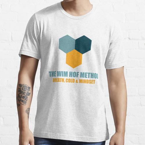 Die Wim Hof Methode Atemtechnik Essential T-Shirt