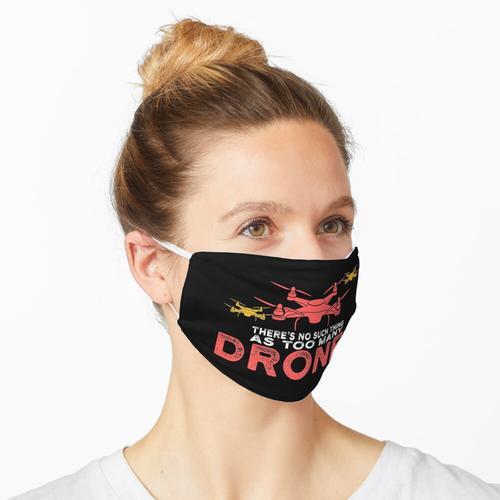 zu viele Drohnen, Drohnen Kameramann Maske